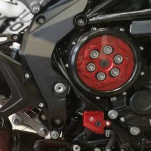Carter frizione idraulica trasparente-MvAgusta-Monza