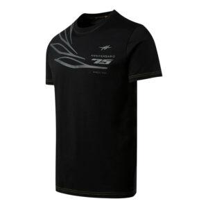Maglietta della vittoria del 75 ° anniversario nera-MvAgusta-Monza